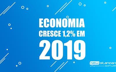 Economia no Brasil cresce 1,2% em 2019